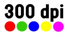 300 dpi